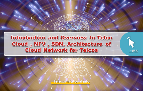 Introduction and Overview to Telco Cloud , NFV , SDN . Architecture of Cloud Network for Telcos