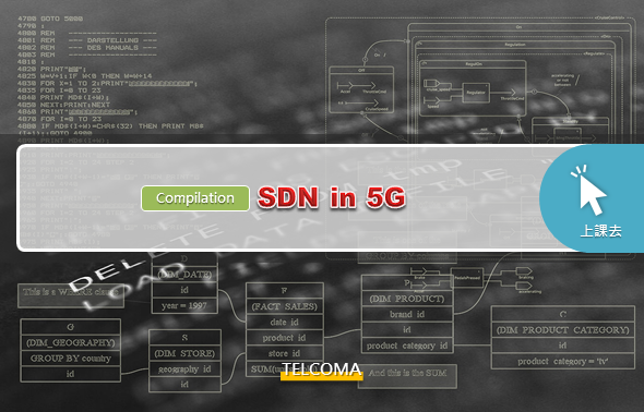 SDN in 5G (Compilation)